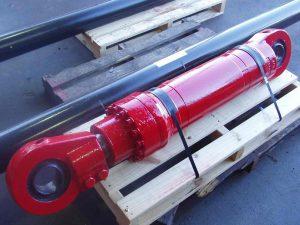 New Red Hydraulic Cylinder