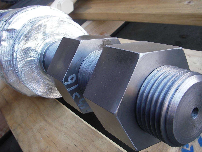 CDM106 Hydraulic Cylinder Nuts
