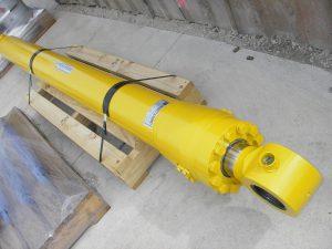 Yellow Hydraulic Cylinder