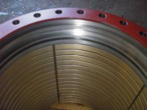 Bronze inlay