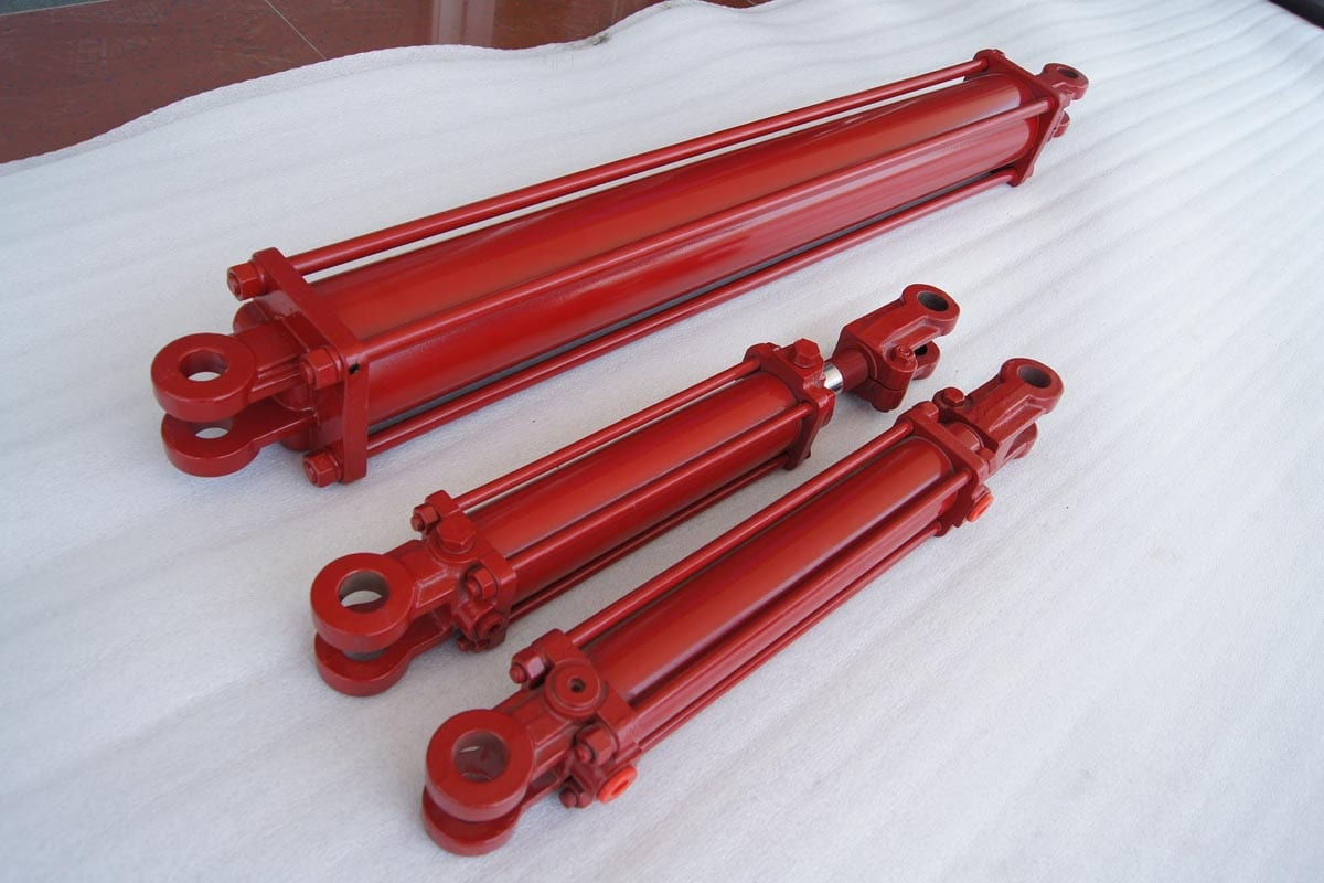 Red AG cylinders