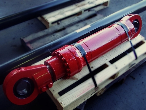 Red Bucket Cylinder